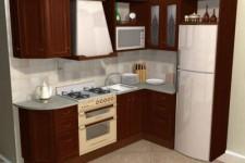 Особенности построения небольшой кухни