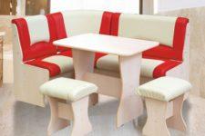 Комфортная обеденная зона — кухонный уголок