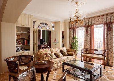 Классический стиль в интерьере квартиры или коттеджа