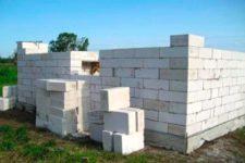 Возведение загородного дома из газобетонных блоков