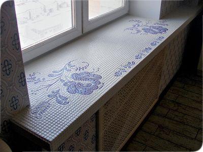 Современные виды покрытия подоконников