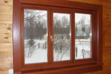 Деревянные окна из дуба. Уход за деревянными окнами