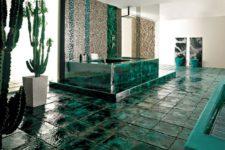 Керамическая плитка для пола — создание уникального стиля вашей ванной комнаты