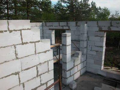 Дом из пенобетонных блоков под ключ или своими руками