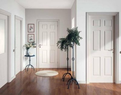 Разновидности и характеристика белых межкомнатных дверей