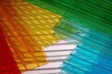 Отличительные черты сотового поликарбоната