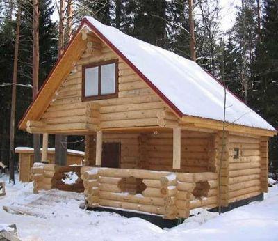 Несколько слов о строительстве деревянных бань