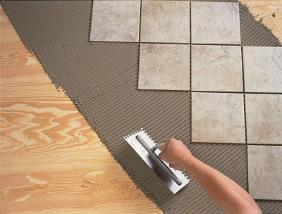 Способ укладки керамической плитки