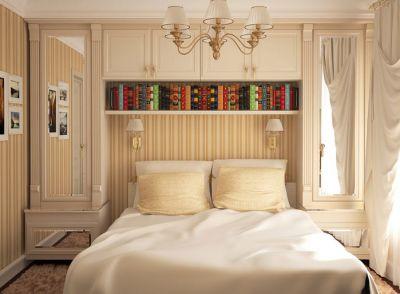 Классические маленькие спальни
