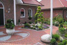 Садовые дорожки из керамогранита. Прогулки на свежем воздухе