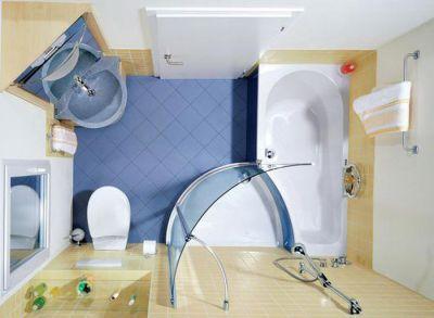 Что такое планировка ванной комнаты
