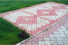 Тротуарная плитка бетонная