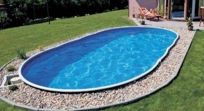 Открытый бассейн для лета