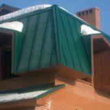 Недорогая альтернатива при устройстве крыш — кровля из профнастила