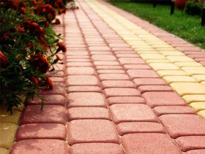 Основные преимущества тротуарной плитки перед другими дорожными покрытиями