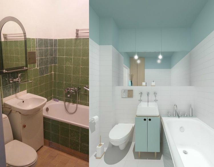 Идеи для ванной комнаты во время ремонта