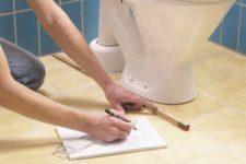План ремонта в ванной и туалете