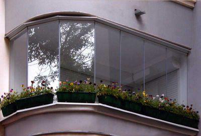 Виды балконного остекления