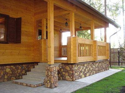 Особенности строительства домов и бань из дерева