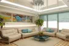 Особенности дизайна потолка в квартире