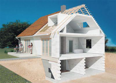 Строим дома и коттеджи из газобетона