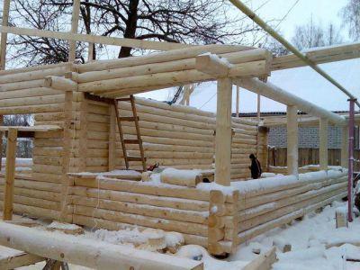 Плюсы зимнего строительства