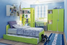Великолепная атмосфера детской комнаты