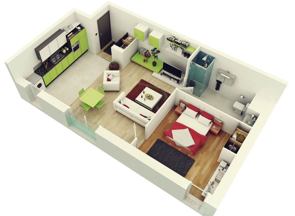 Современные планировки жилья