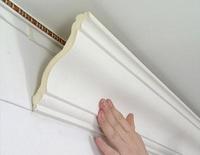 Параметры потолочных плинтусов, реализуемых предприятием архитектурного строительного декора