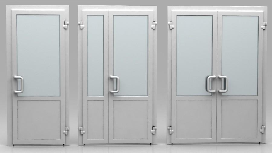 Алюминиевые двери в строительстве