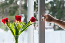 Микропроветривание пластиковых окон – полезная опция