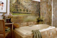 Как украсить интерьер ванной?