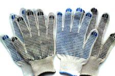 Перчатки рабочие. Виды.