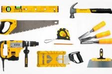 Необходимые инструменты для установки дверей