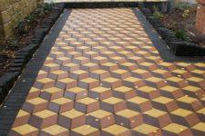 Рисунки тротуарных плит (брусчатки)