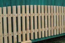 Штакетник деревянный для забора цены