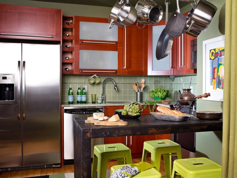 Как выбрать мебель для маленькой кухни