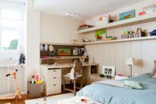 Функциональный дизайн детской комнаты