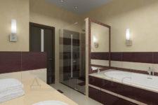 Столешница для ванной из акриловой смолы