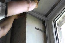 Откосы плстиковых окон своими руками