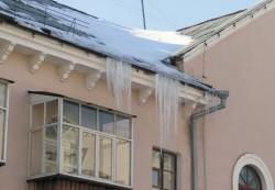 Крыша без сосулек