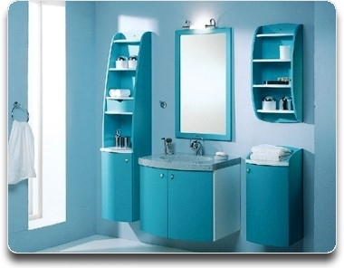 Мебель для ванной комнаты: дизайнерские решения