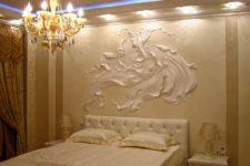 Барельеф для стен – применение древних видов искусства в современном интерьере