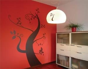 Декорирование квартиры с помощью цветочных узоров