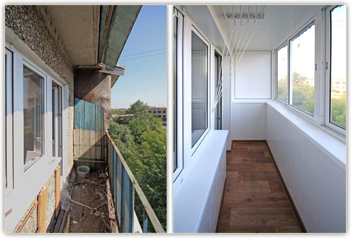 Лоджии и балконы под ключ