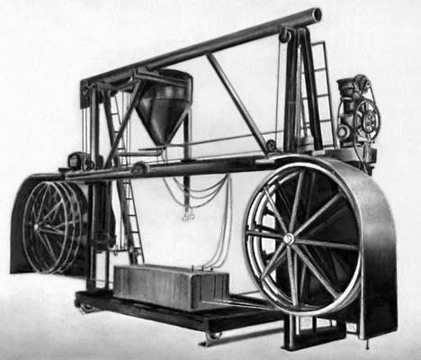 История техники: канатная передача