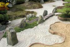 Использование песка в ландшафтном дизайне
