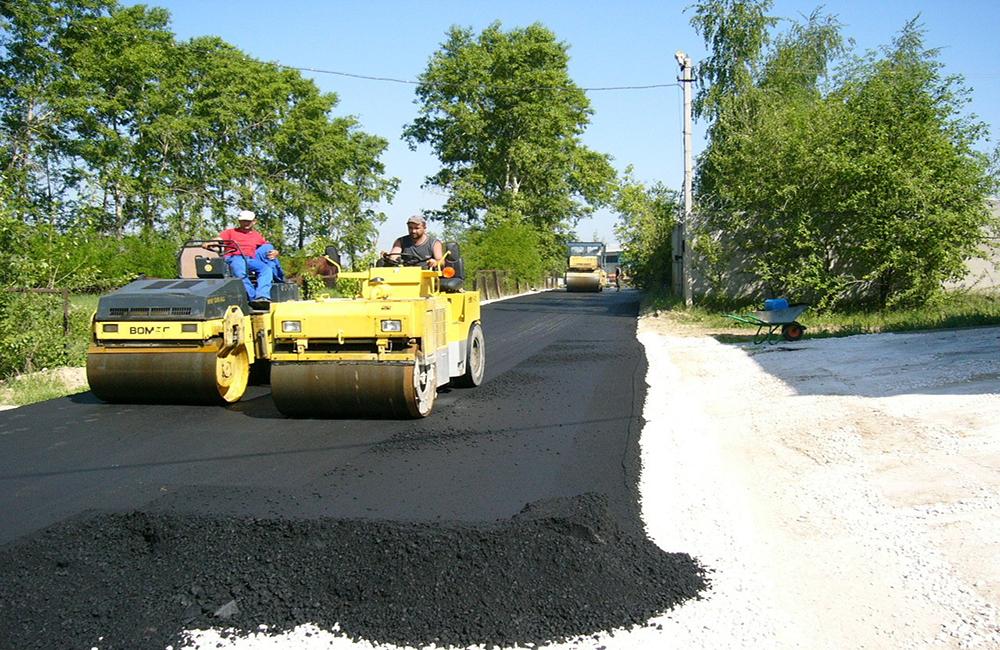Технология строительства дорог