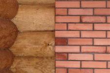 Выбор материала дома в сравнении