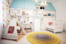 Лучшие проекты детских комнат от российских дизайнеров